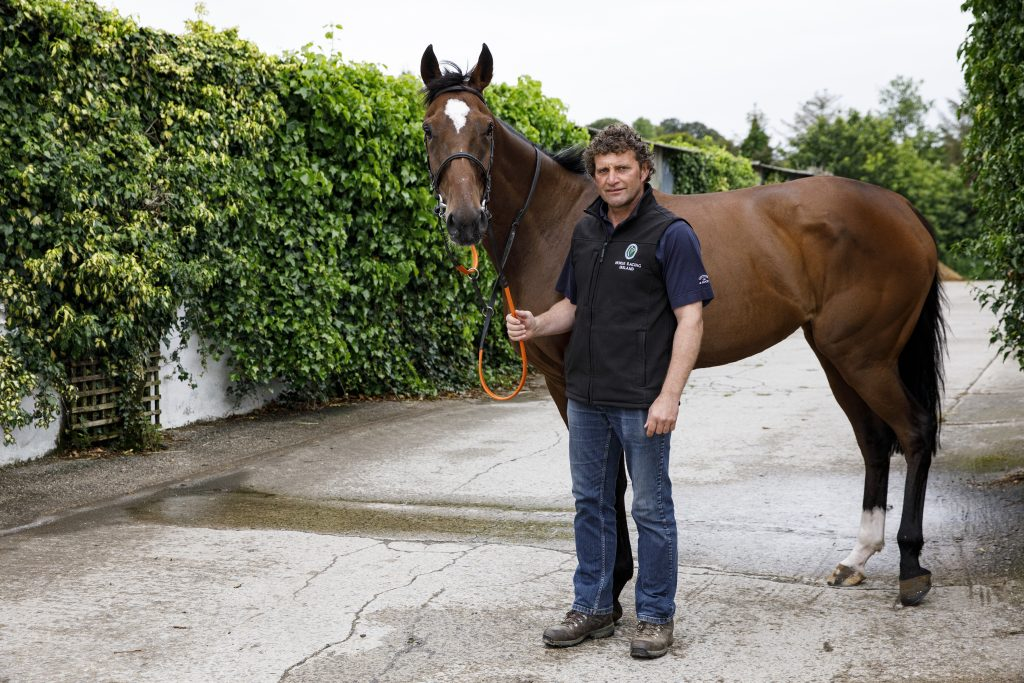 Target Fertiliser customer Paul Nolan, racehorse trainer