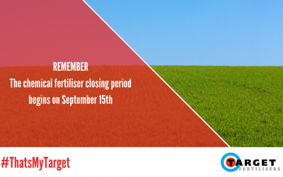 Planning your chemical fertiliser application prior to the closing period